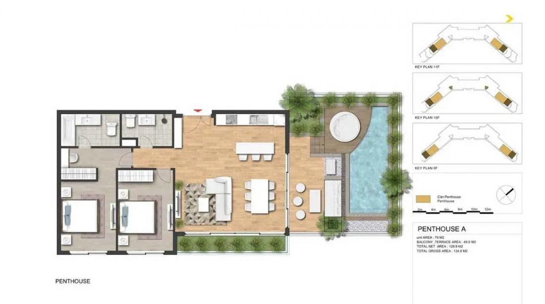 Thiết kế dự án căn hộ condotel Ixora Ho Tram by Fusion