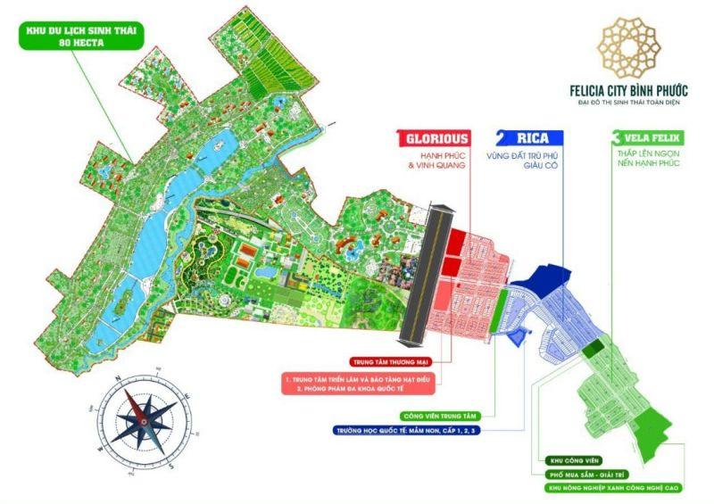 Khu đô thị Felicia City Bình Phước 2