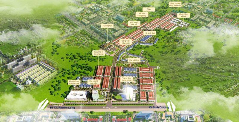 Khu đô thị Felicia City Bình Phước 3