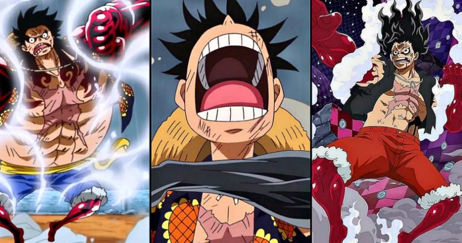 Doflamingo laughs off his transformation but before he can even prepare himself, luffy speed blitzes him using this technique. One Piece 10 Things You Didn T Know About Gear 4th Luffy Cbr
