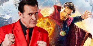 Bruce Campbell gives impetus to Dr. Strange 2 Cameo rumors with photos from London