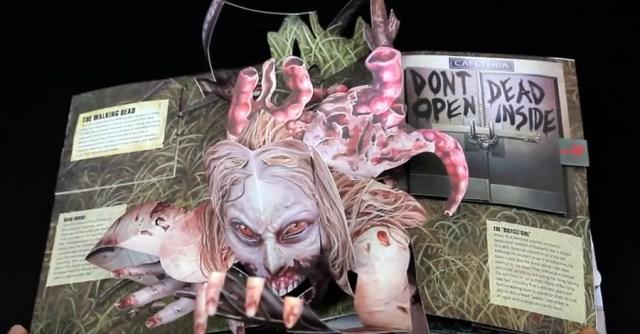 Do open, dead inside: 'Walking Dead' pop-up book is terrifying ...