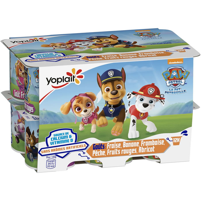 chronodrive yoplait paw patrol