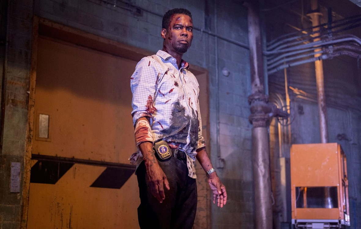 Spiral Tempts Chris Rock in New Image from Saw Sequel