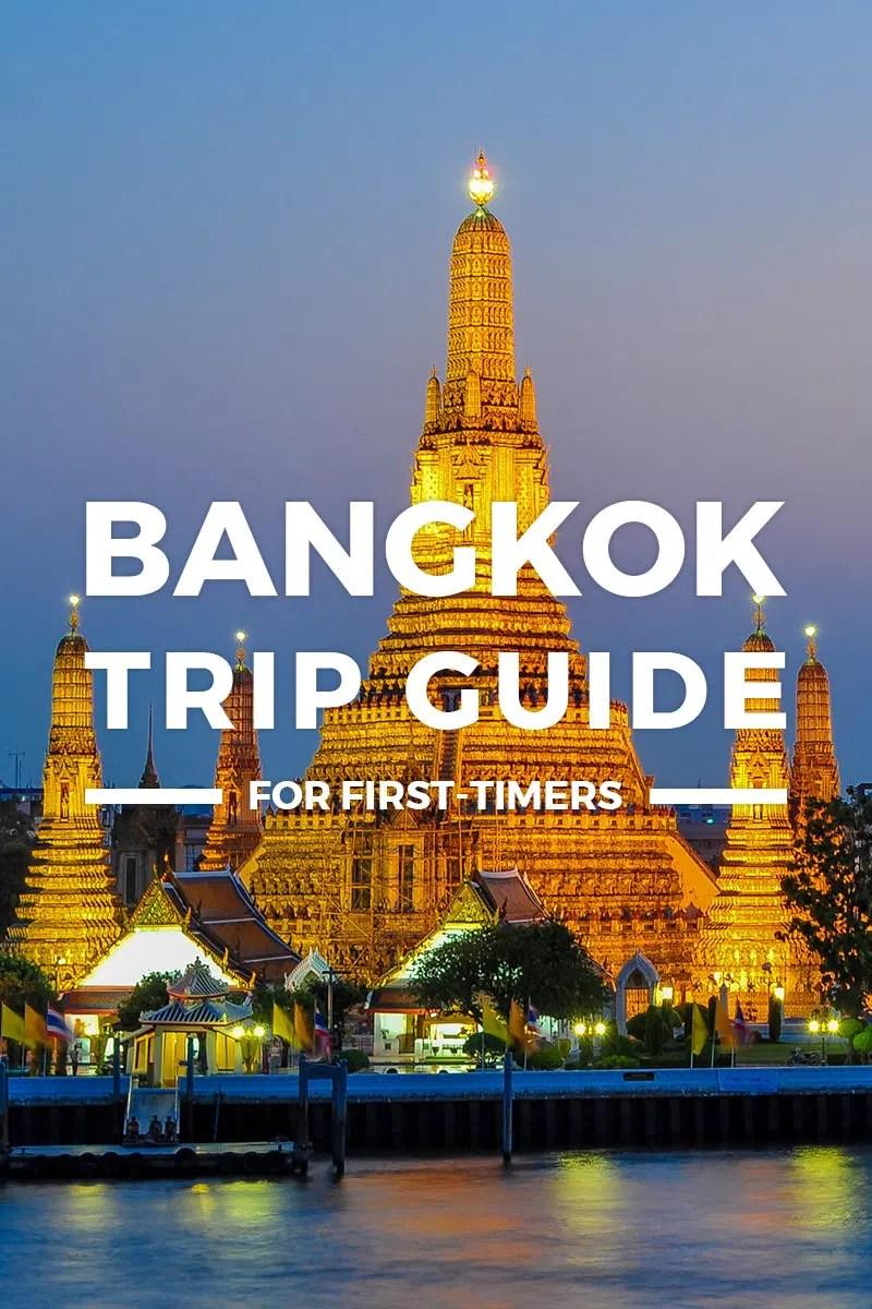 2019 Bangkok Itinerary Travel Guide Blog Budget