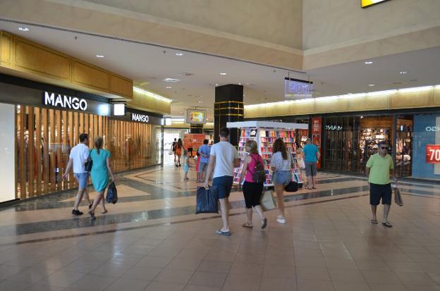 el centro comercial el