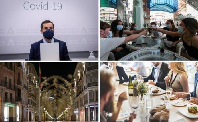 Confinamiento y nuevas restricciones en Andalucía frente a la crisis del  coronavirus | Navidad en Andalucía: lo que debes saber de los nuevos  horarios y fases de desescalada | Diario Sur