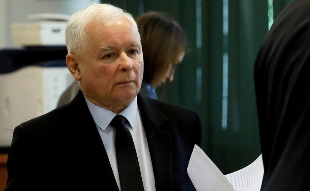 Jaroslaw Kaczynski, chairman of the main opposition party, Law and Justice.