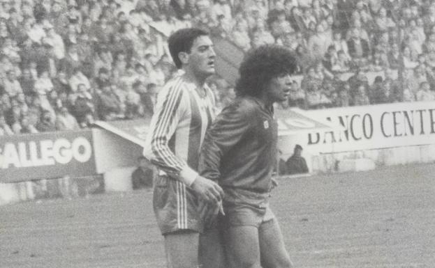Maradona's first appearances in EL COMERCIO