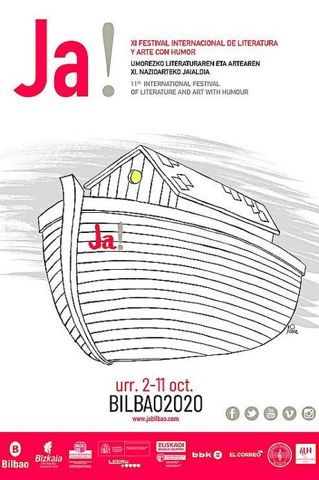 A Noah's Ark, symbol of resistance, stars in the poster. Asier Sanz