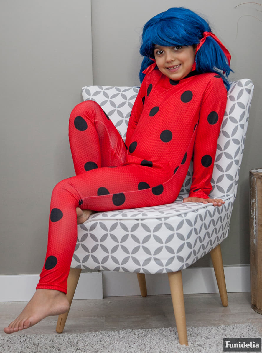 Disfraz de Ladybug para nia Entrega 24h  Funidelia