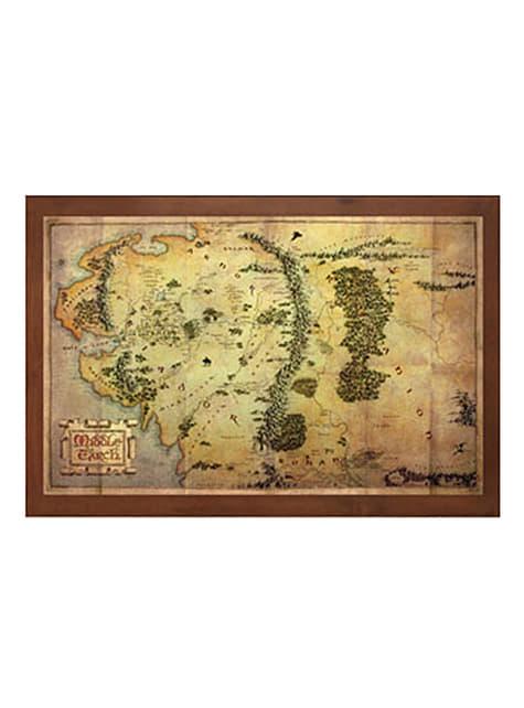 Le Seigneur Des Anneaux Carte : seigneur, anneaux, carte, Carte, Terre, Milieu, Seigneur, Anneaux, Funidelia