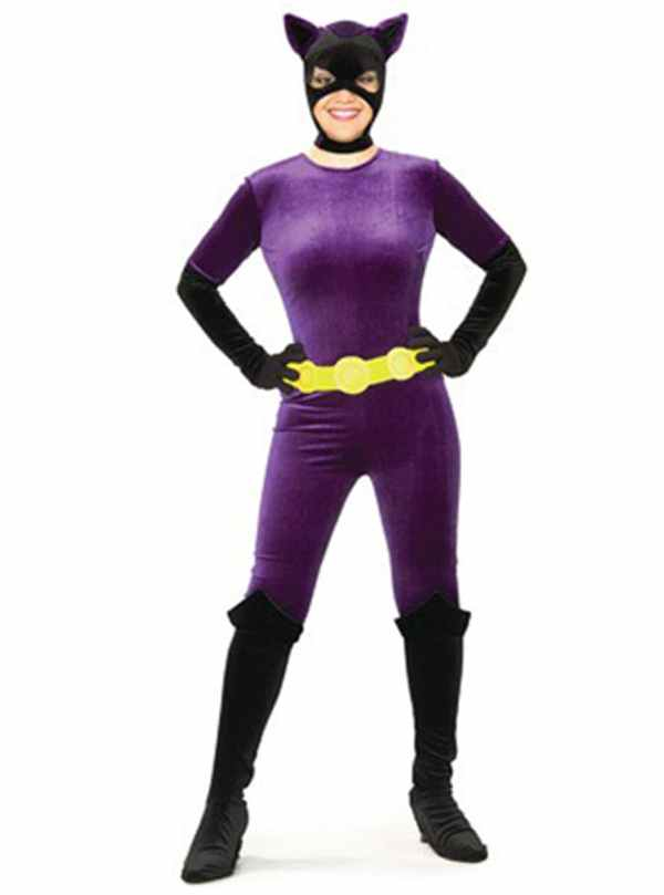Girls Catwoman Halloween Costume