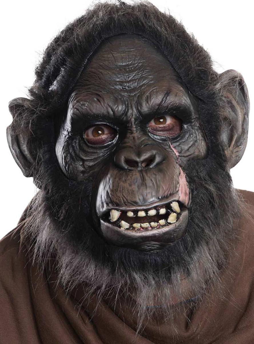 Masque de Koba en latex luxe la Plante des singes pour adultes pour dguisement  Funidelia