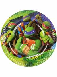 Set of 8 Teenage Mutant Ninja Turtles Dessert Plates for ...
