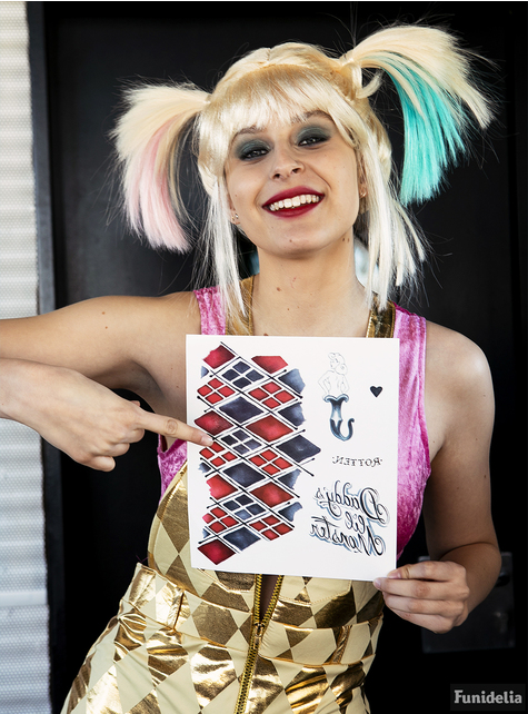Harley Quinn Suicide Squad Tattoos : harley, quinn, suicide, squad, tattoos, Harley, Quinn, Tattoos., Express, Delivery, Funidelia