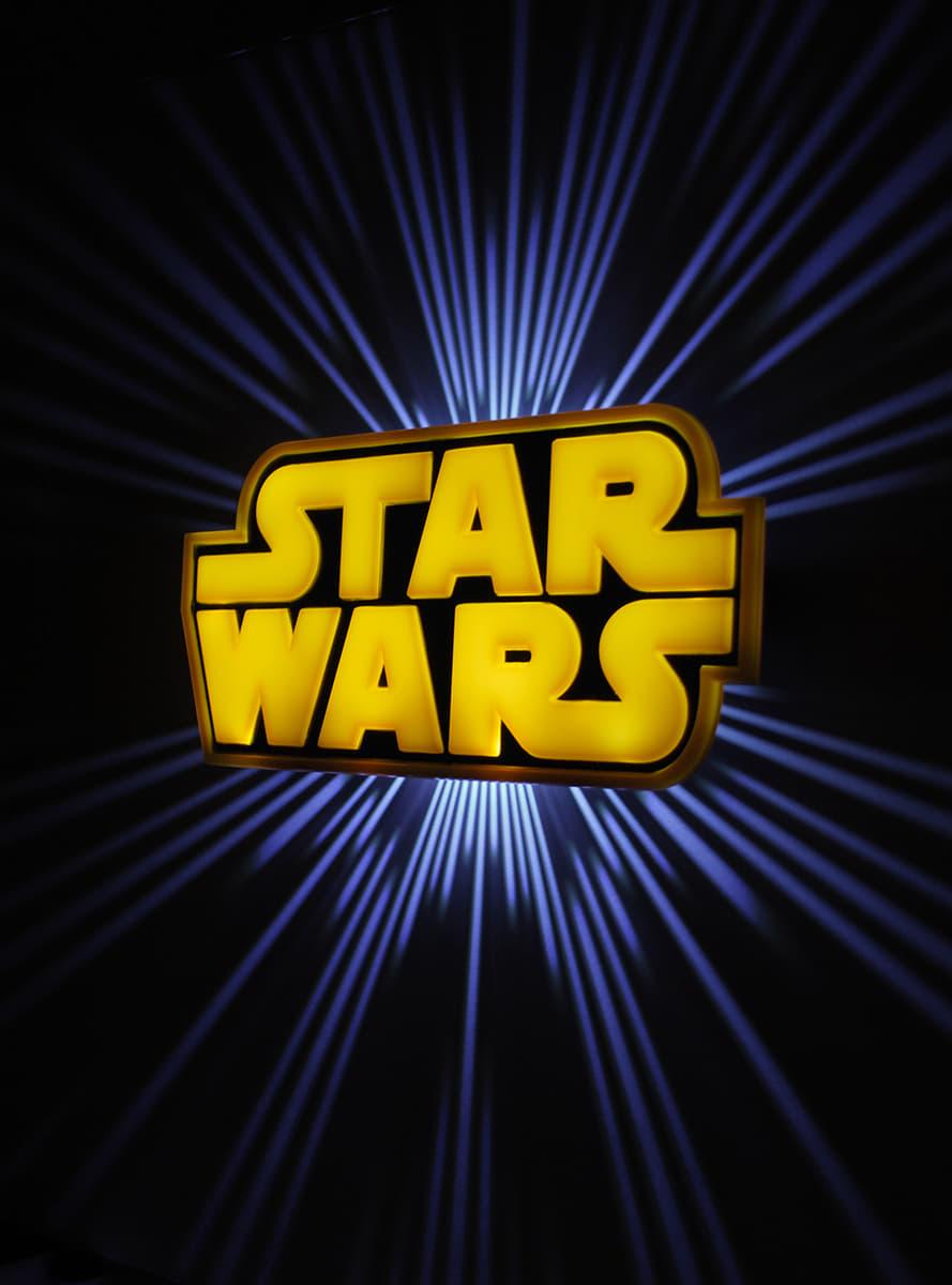 3D Deco Light Star Wars Logo For True Fans Funidelia