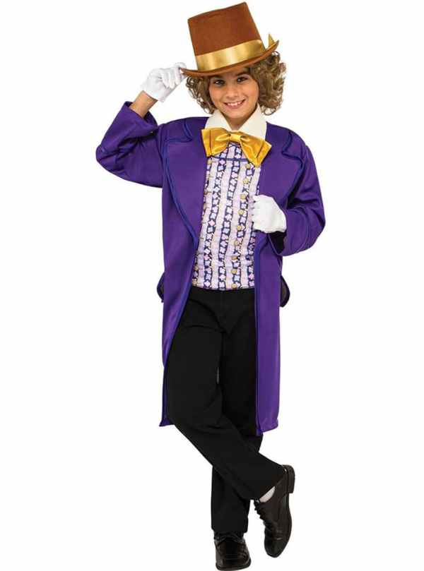 Disfraz De Willy Wonka Para Ni. Fun Funidelia