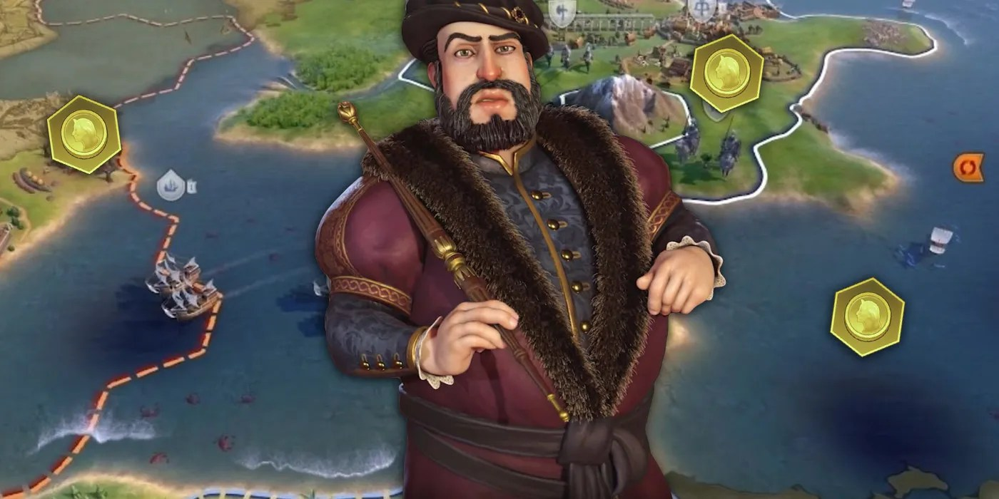Civilization 6's New Portugal Leader is a Gold-Generating Powerhouse