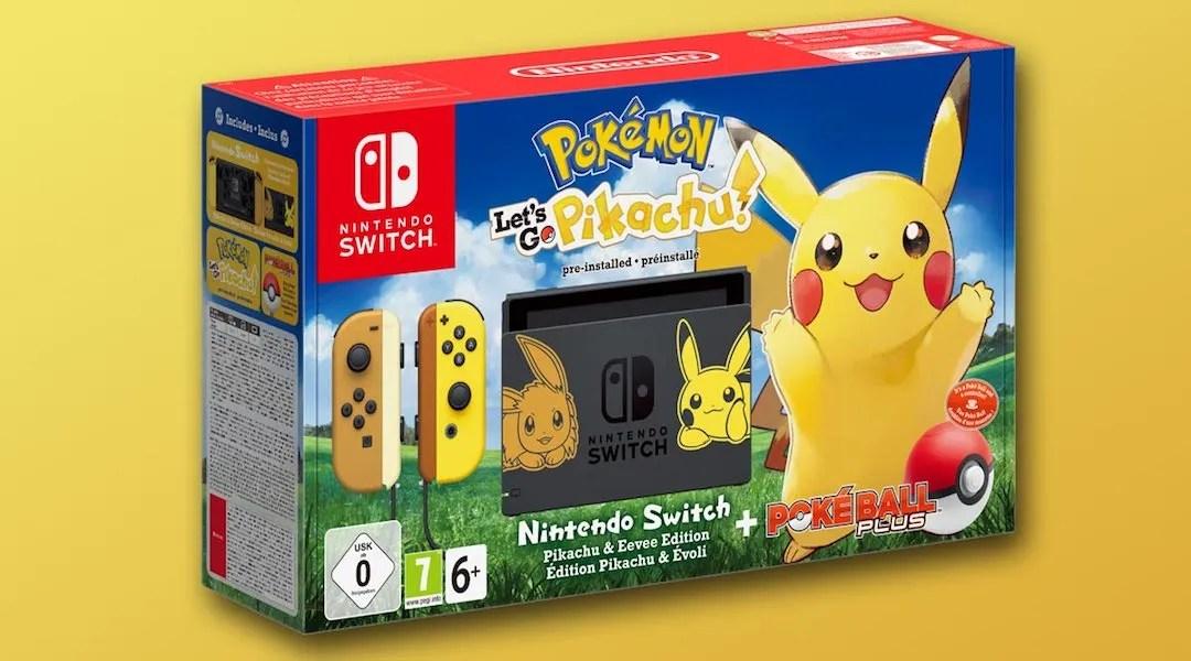 Pokemon Let's Go Nintendo Switch Bundles Announced   Game Rant