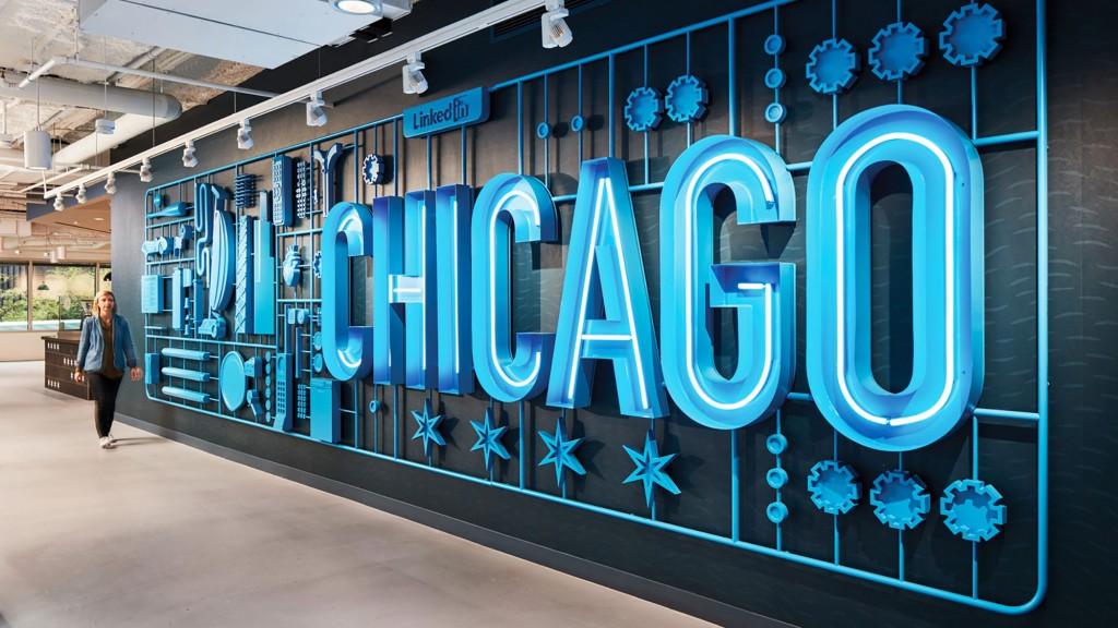 LinkedIn Chicago Brand Design  Projects  Gensler