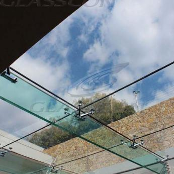 Structural Glass Roof with Glass Fins  GLASSCON GmbH  Architectural Building Skins Faade