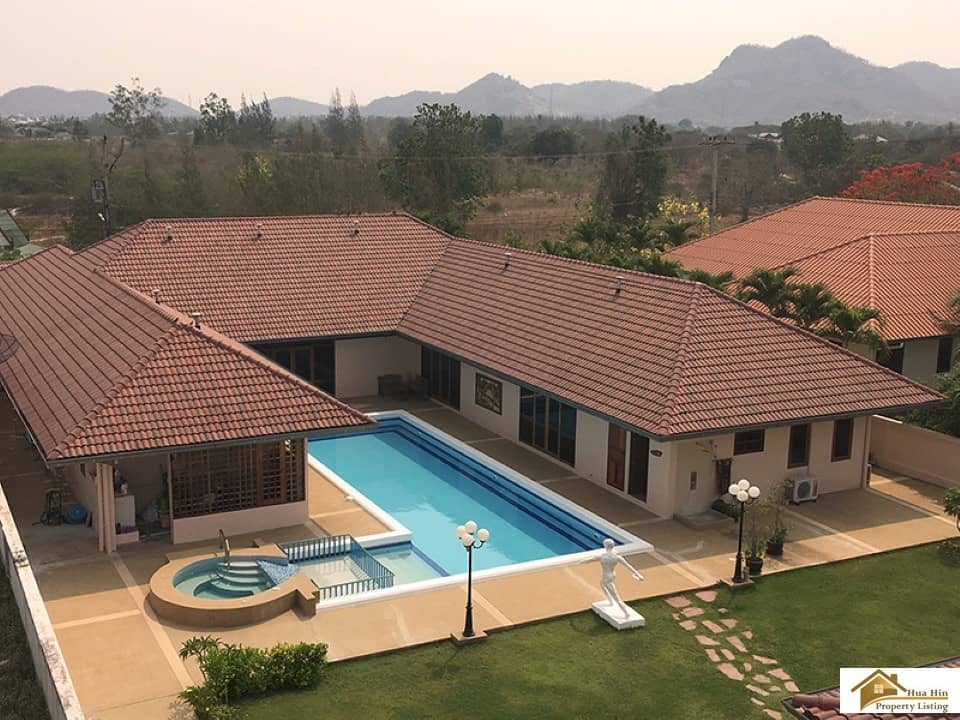 Luxury 5 Bed Private Pool Villa For Sale In Hua Hin