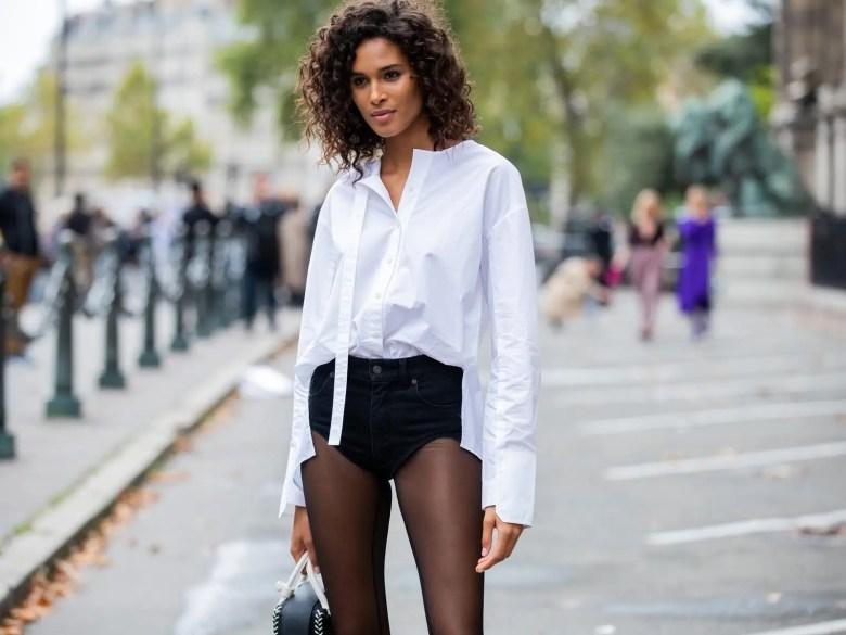 hot pants paris fashion week