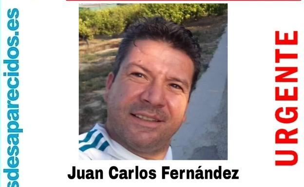 Juan Carlos Fernández, Archena's neighbor who disappeared last Wednesday.