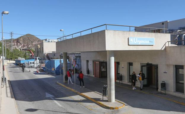 Emergencies of the Rafael Méndez hospital, in Lorca, in a file photograph.