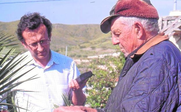 Gregorio Rabal Saura and the Nene del Cañar.