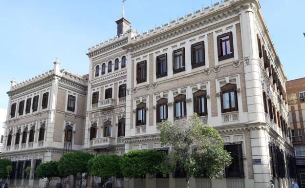 Rectorate building of the UMU.