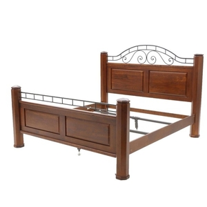 cherrywood king size bed frame by lexington