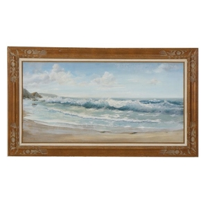 Lot-Art   Cecil Lee Oil Painting of Seascape