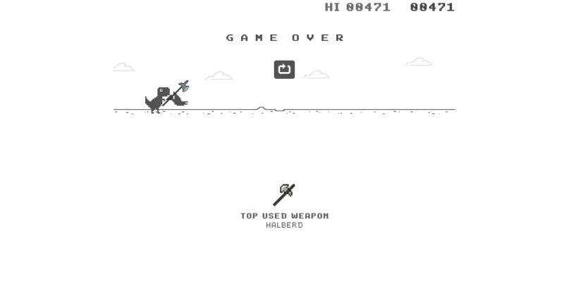 Ahora Puedes Jugar Al Juego De Dinosaurios De Google Con Armas Utilizar Descubrí la mejor forma de comprar online. ahora puedes jugar al juego de