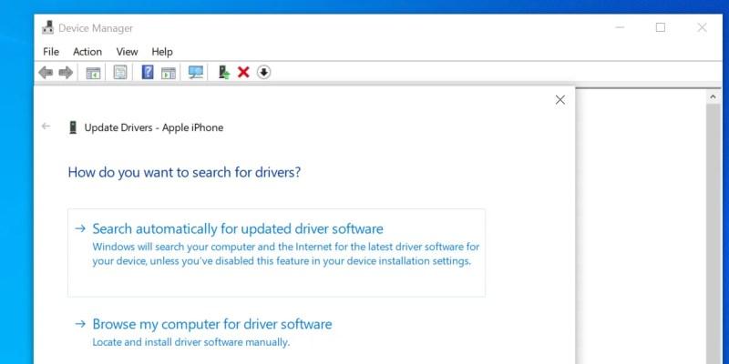 cerca i driver per iPod