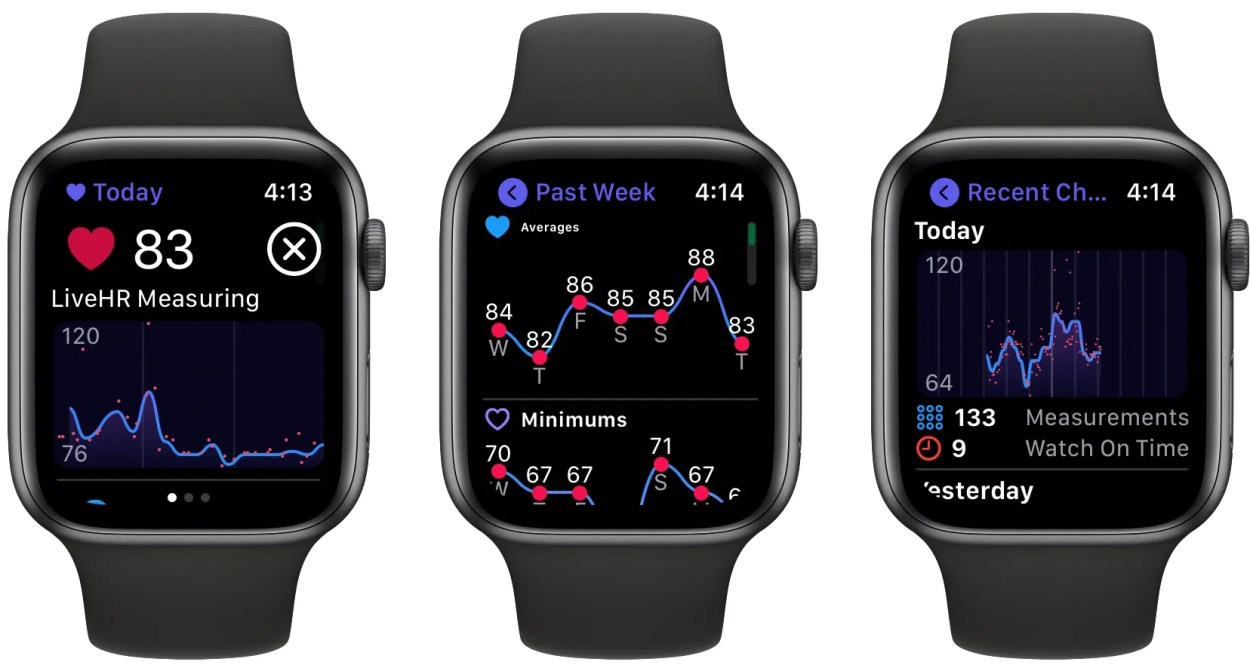 Heart Analyzer Apple Watch app