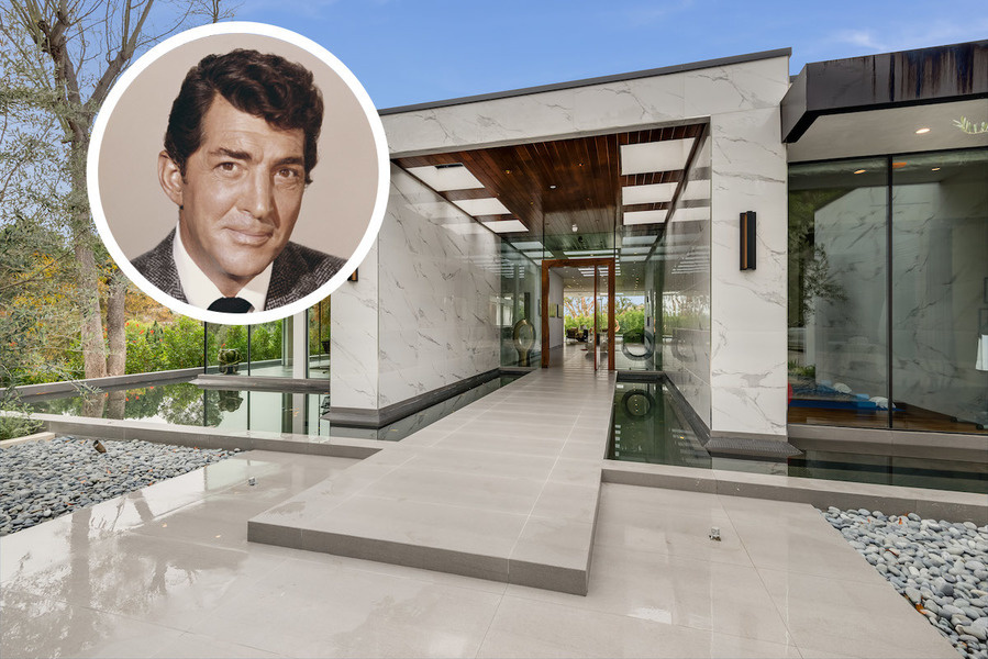 New Home on Site of Dean Martins Former Los Angeles