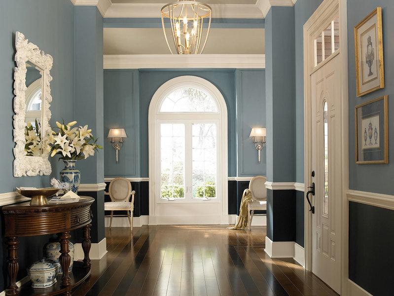 How To Use More Than One Paint Color In A Room Mansion