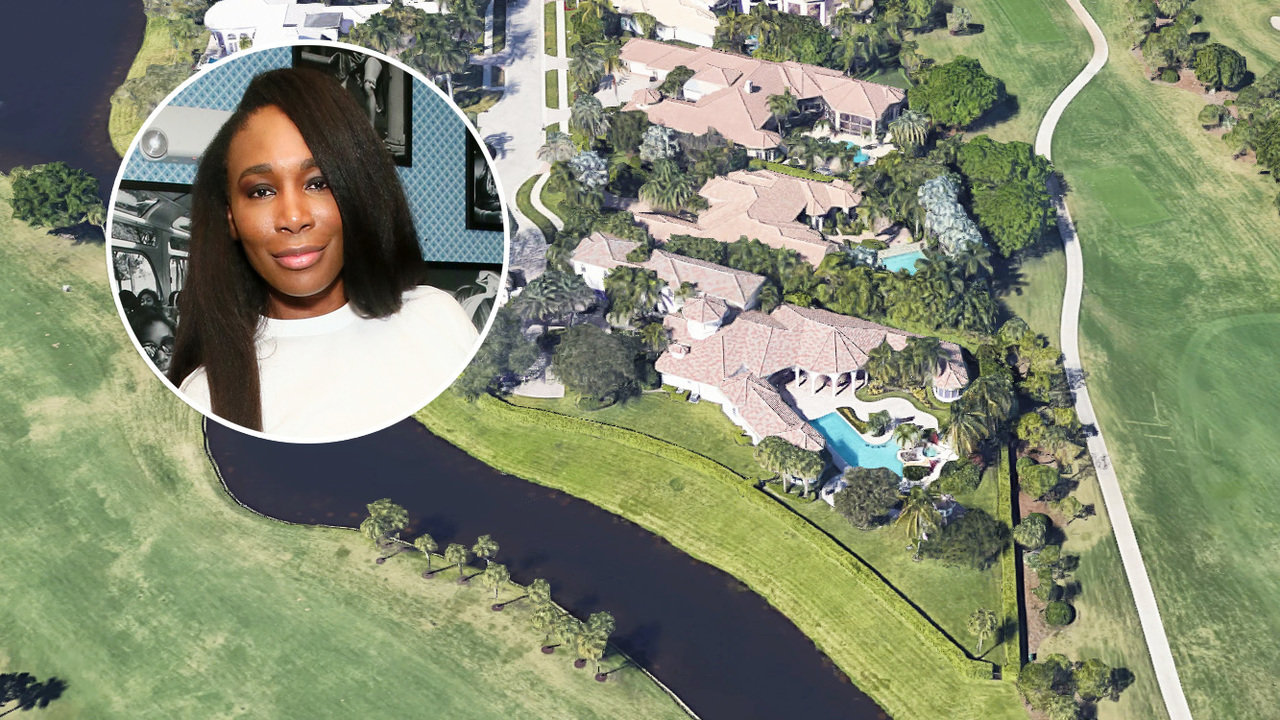 Venus Williams Selling South Florida House for 2695M  Mansion Global