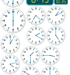 The Worksheet Telling Time to the Minute focuses on Analog and Digital:  24-Hour Clock [ 1590 x 507 Pixel ]
