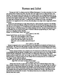Juliet Essay Romeo And Juliet Gcse English Marked By Teachers Com