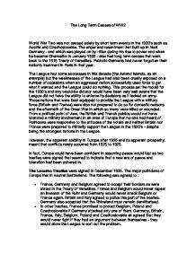 World War 1 Essays All About Thesis Statements What Is The Thesis