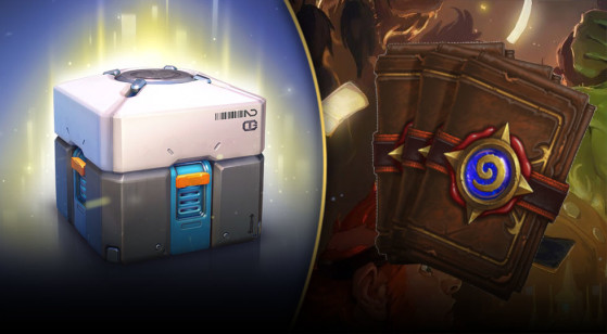 Lootbox application pour Overwatch et Hearthstone - Millenium