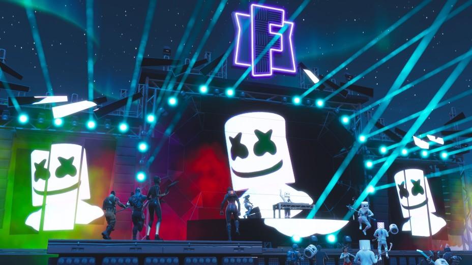 Fortnite Le Concert De Marshmello Attire 10 Millions De