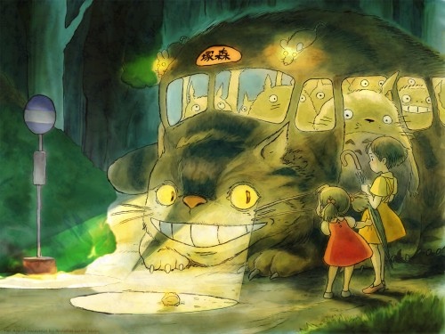 Studio Ghibli, My Neighbor Totoro, Totoro, Mei Kusakabe, Satsuki Kusakabe Wallpaper