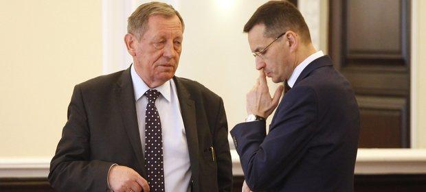 Jan Szyszko i Mateusz Morawiecki