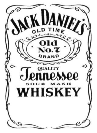 JACK DANIEL S OLD TIME Old No.7 BRAND QUALITY Tennessee