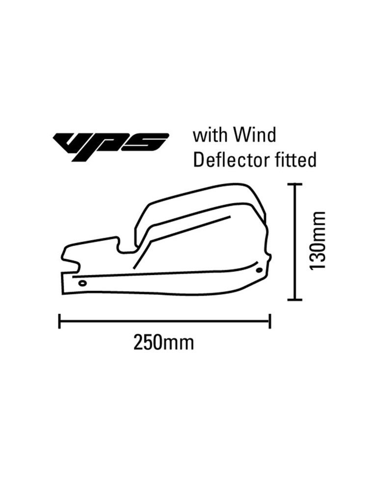 VPS Plastic Guards Barkbusters + Hardware Kit BMW R1100GS