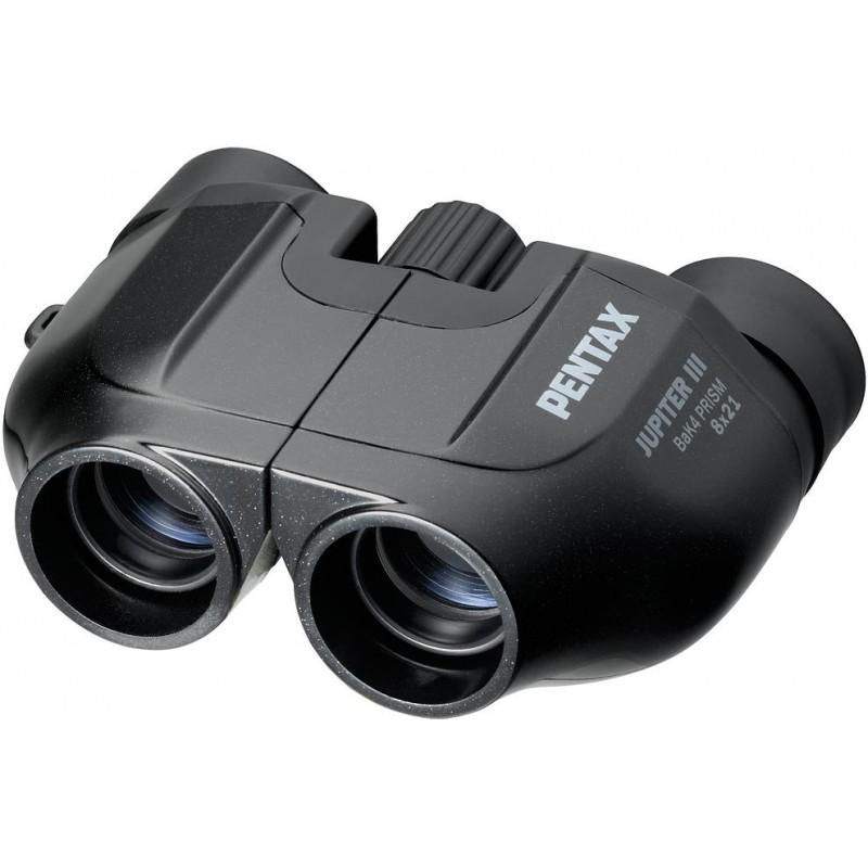 Pentax binoculars Jupiter III 8x21. matte black - Binoculars - Nordic Digital
